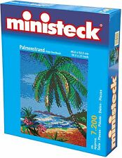 Ministeck Pixel Puzzle (31893): Palm Trees on a Beach 7200 pieces