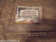 Emergency/Survival Personal Hygiene Kit:  BOOSTER PACK w/18+ First Aid Items