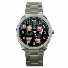 NEW * SEXY i Beatles qualità Sport Metallo Orologio da polso regalo