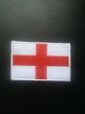 ENGLAND ST GEORGE FLAG SEW ON IRON PATCH