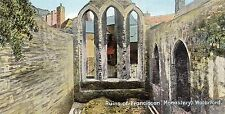 postcard Ireland Waterford Ruins of Franciscan monastery un posted