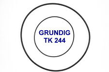 SET BELTS GRUNDIG TK244 REEL TO REEL EXTRA STRONG NEW FACTORY FRESH TK 244