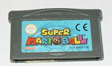 Nintendo game boy advance jeu super MarioBall eur gba