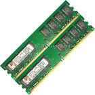2GB 2x1GB DDR2-667 PC2-5300 5300U Non-ECC DIMM Memory RAM 4 Desktop PC 240-pin
