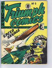 Triumph Comics #9 Bell Features  CANADIAN EDITION