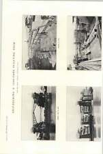 1922 Drydock Company Surabaya Self Docking Photographs 1