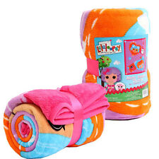 "Blanket Soft Cozy Micro Raschel Throw 50""x60"" Lalaloopsy Pink New"