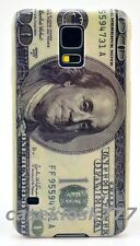 for Samsung galaxy i9600 S5 SV one 100 dollars bill  case hard back /