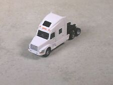 N Scale 2010 White Volve Semi-Truck, Semi-Tractor with sleeper.
