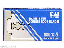 50 KAI Double Edge Razor Blades