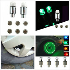 4Pcs Green LED Car SUV Wheel Signal Tire Spoke Lights Decoration Lamp Waterproof