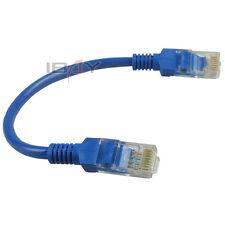 20pcs 20cm Network Cat5E RJ45 Patch Cable Ethernet Lan
