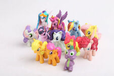 New 12Pcs My Little Pony PVC Action Figure Collection Model Toys Doll X-16