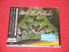 2017 OVERKILL The Grinding Wheel with Bonus Tracks JAPAN CD + DVD EDITION
