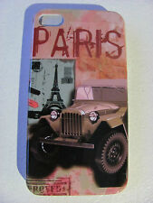 Coque Housse Etui PARIS TOUR EIFFEL TOWER Pour IPhone 4 4S