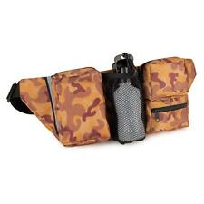 Cruising Companion Fanny Pack with Dog Tray Water Bottle - Rust Camo