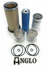 Oil, Fuel & Dry Air Filter Kit Set for Massey Ferguson 135 MF Tractors 3 Cyl