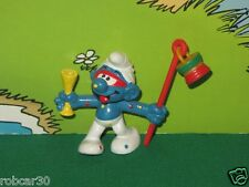 SCHTROUMPF SCHLUMPF SMURF PITUFO CARNAVAL 2.0107,RARE COLORED LAMP