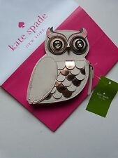 Kate Spade PURSE / WALLET Pink Leather OWL COIN PURSE