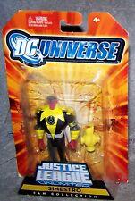 DC UNIVERSE 2008 JUSTICE LEAGUE UNLIMITED FAN COLLECTION SINESTRO SET