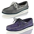 MENS TIMBERLAND BOAT DECK CASUAL LACE UP LEATHER SHOES SIZE