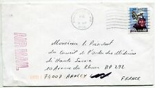 LETTRE  KALAMAZOO USA   / ANNECY FRANCE 1996  PAR AVION  AIR MAIL
