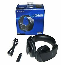 ➤Sony Pulse Wireless Stereo 7.1 Headset w Boom Mic for PlayStation PS3!FREE SHIP