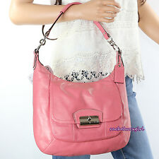 NWT Coach Kristin Rose Pink Leather Hobo Shoulder Crossbody Bag 19293 RARE NEW