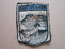 Grottes De Han Woven Cloth Patch Badge