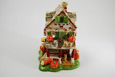 Halloween 2002 AVON Ceramic House Tea Lite Holder