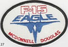 F-15 EAGLE McDonnell Douglas patch