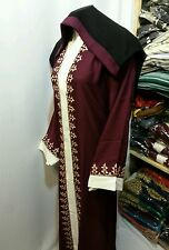 Women  open front abaya.japanese Neda/linen  material.new  model .sizes 54.56.58