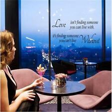 Love isn't Find Someone You Can Live With Vinyl Wall Sticker Decal Decor Quotes