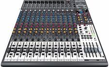 Behringer XENYX X2442USB mint 16-Channel USB i/O Mixer w/ 24-Bit Multi-Effects
