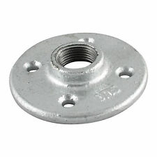 "1/2"" GALVANIZED IRON FLOOR FLANGE fitting pipe npt - LOT OF 25"