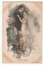 Harrison Fisher Glamour Postcard Sense of Touch 704 Reinthal & Newman Vintage