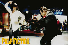 "Pulp Fiction John Travolta & Uma Thurman Dance  Movie 36""x 24"" Poster  New"