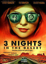 "3 Nights in the Desert (DVD, 2015) ""One Last Chance to Make it Right""  GOOD!"