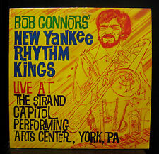 Bob Connors New Yankee Rhythm Kings Live LP Mint- 1983 Private US Jazz Stomp Off