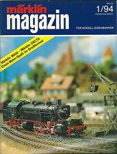 Märklin magazin 1/94 Die Zeitschrift für modell eisenbahner Train modélisme