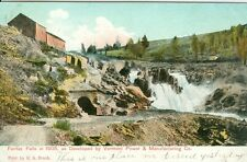 Fairfax Falls, VT Developed by Vermont Power & Manufacturing Company 1906