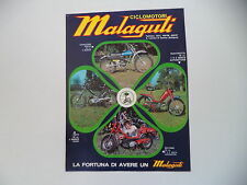 advertising Pubblicità 1974 MALAGUTI CAVALCONE CROSS 50/QUATTROTTO/FIFTY/MOTORIK