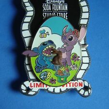 Stitch and Angel Easter Disney Soda Fountain Pin LE 300 OC FreeD