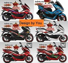 Honda PCX150 PCX125 Sticker Designed By You Full Body Fits Race Graphic Fairings