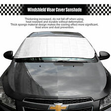Window Foil Sun Shade Car Windshield Visor Cover Block Front Window Sunshade UV