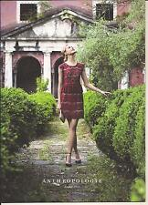 ANTHROPOLOGIE MODELS FINE CLOTHING CASUAL WEAR AUGUST 2013 ROMANTIC TUSCANY