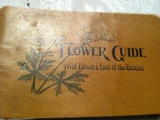 Antique Flower Guide Wild Flowers East Of The Rockies  1907 VG Color Pictures
