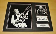 DON FELDER GENUINE HAND SIGNED AUTOGRAPH 12x16 PHOTO DISPLAY THE EAGLES + COA