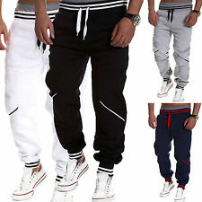 Mens Boy Casual Baggy Harem Sweat Pants Hip-Hop Dance Sport Slacks Trousers Plus