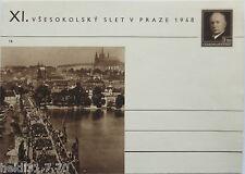 Tschechoslowakei, Bild-Ganzsache 1948 (9579)